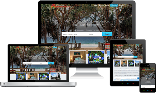 Accommodation Mermaid Beach displayed beautifully on multiple devices