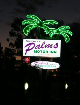 Chinchilla Palms Motor Inn - Accommodation Mermaid Beach
