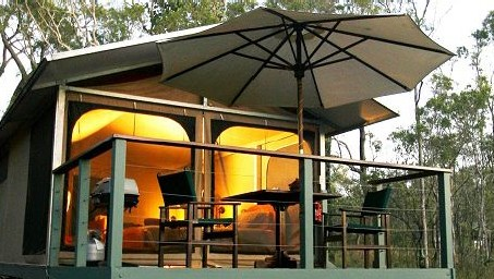 Jabiru Safari Lodge at Mareeba Wetlands - Accommodation Mermaid Beach