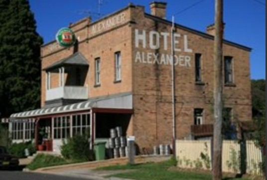 Alexander Hotel Rydal - Accommodation Mermaid Beach