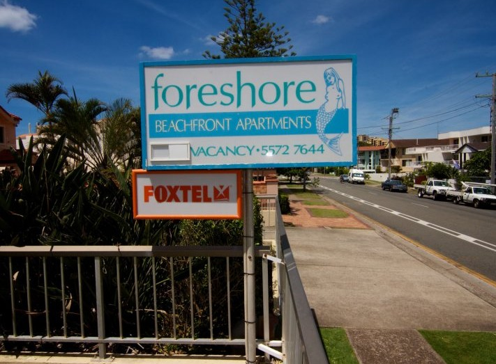 Foreshore Apartments, Mermaid Beach