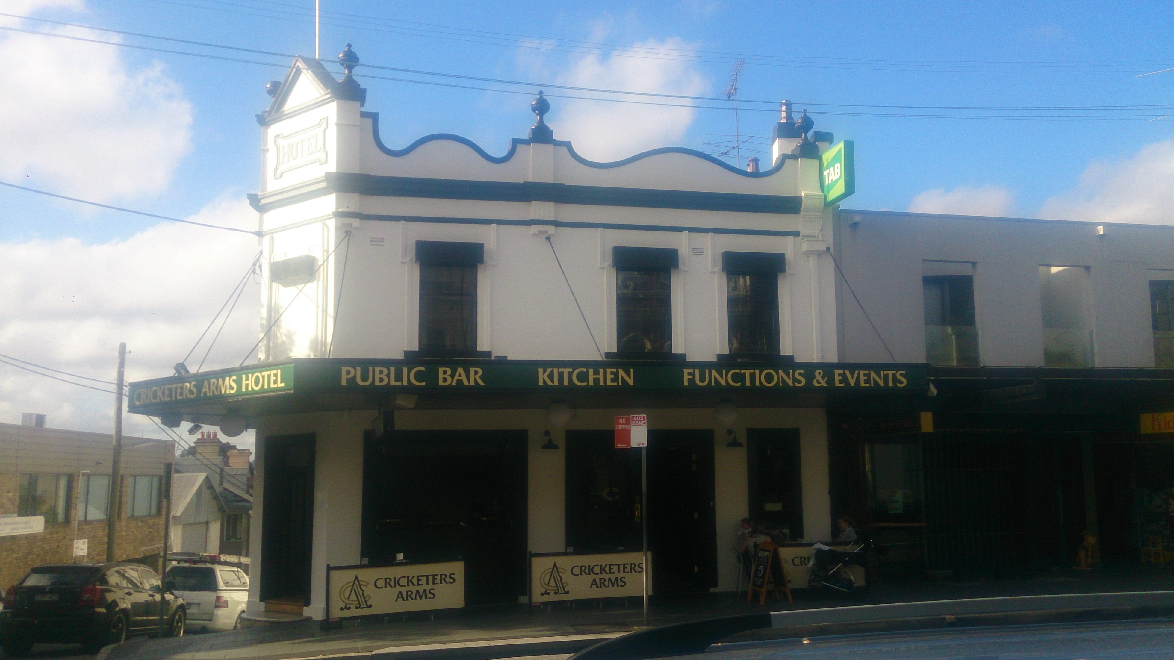 Cricketers Arms Hotel - Accommodation Mermaid Beach