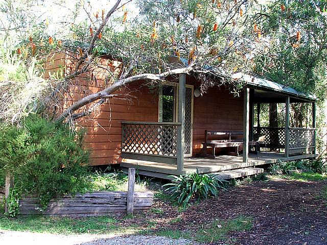 Jervis Bay Cabins  Hidden Creek Real Camping - Accommodation Mermaid Beach