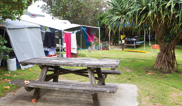 Sandon River campground - Accommodation Mermaid Beach
