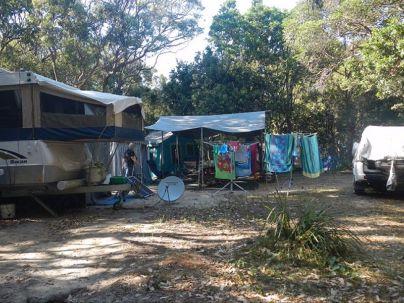 Smoky Cape campground - Accommodation Mermaid Beach