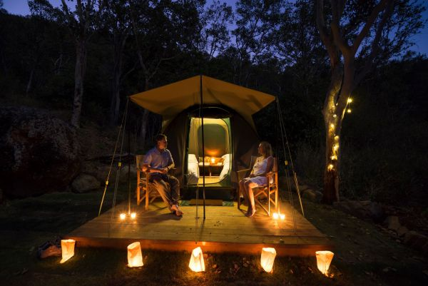 Keswick Island Camping and Glamping - Accommodation Mermaid Beach