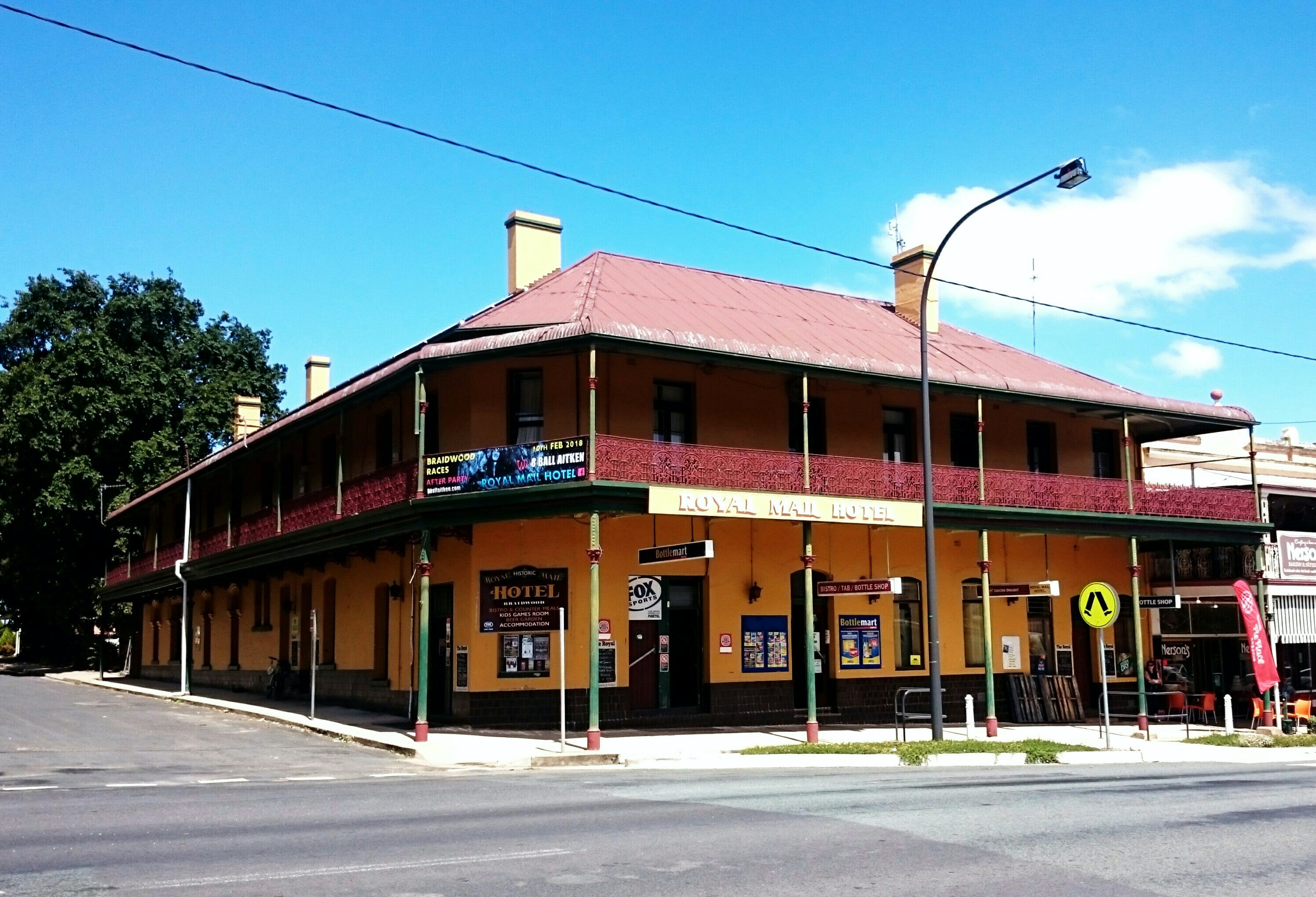 Royal Mail Hotel Braidwood - Accommodation Mermaid Beach