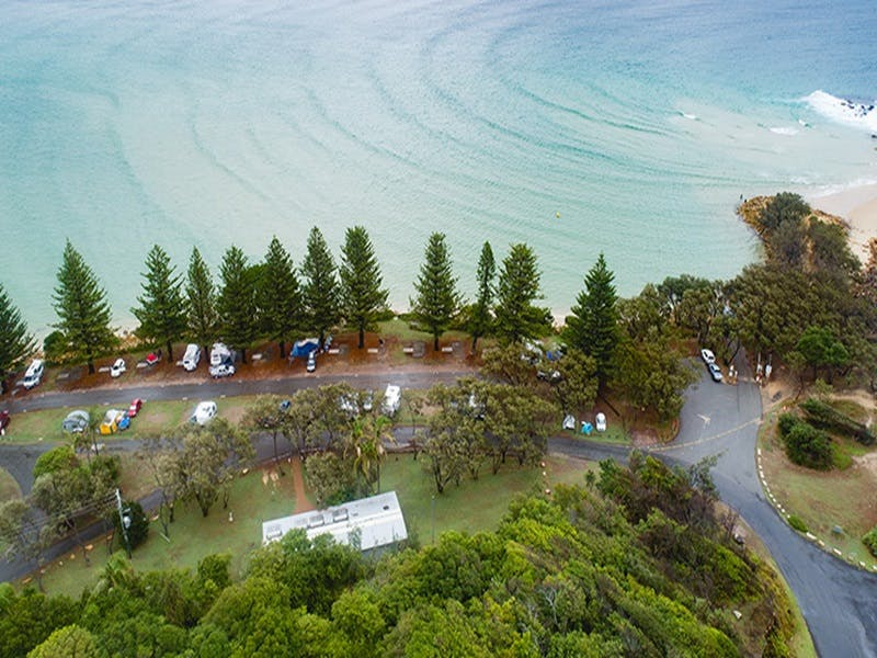 Trial Bay Gaol campground - Accommodation Mermaid Beach