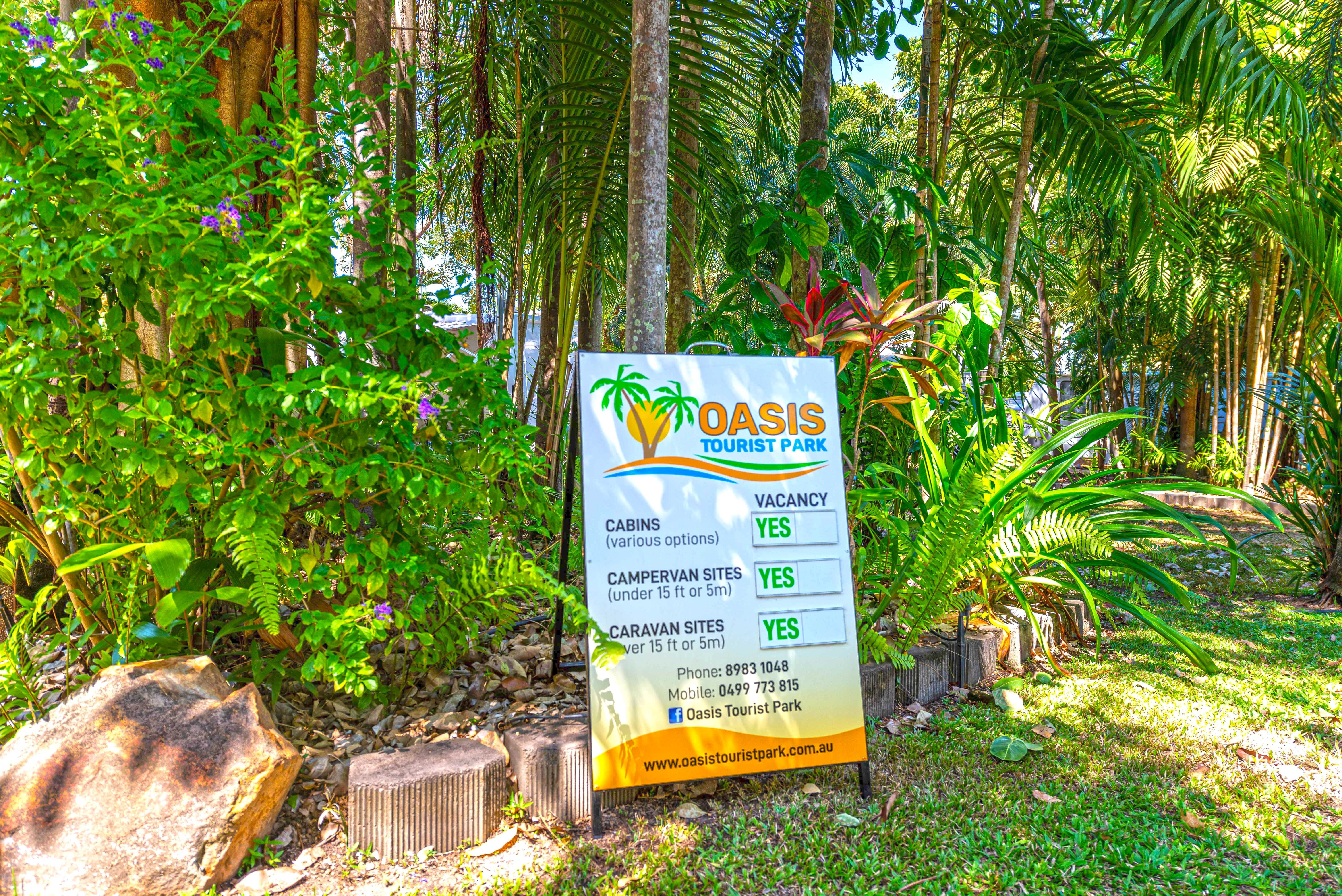 Oasis Tourist Park - Accommodation Mermaid Beach