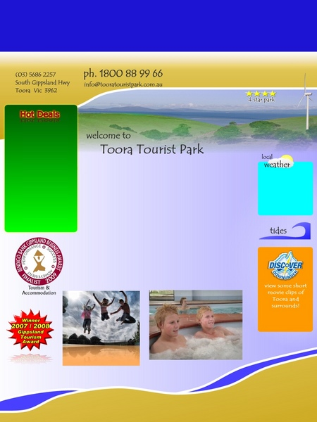 Toora Tourist Park - Accommodation Mermaid Beach