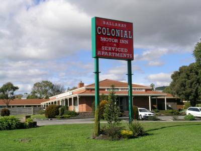 Ballarat Colonial Motor Inn - Accommodation Mermaid Beach
