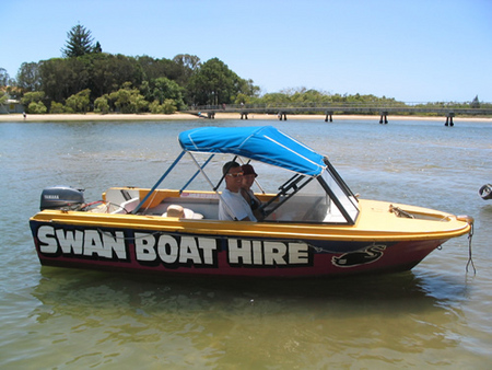 Swan Boat Hire - Accommodation Mermaid Beach