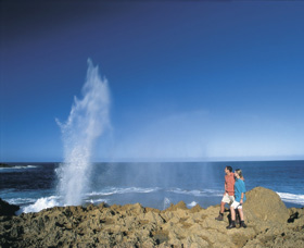 The Blowholes Carnarvon - Accommodation Mermaid Beach