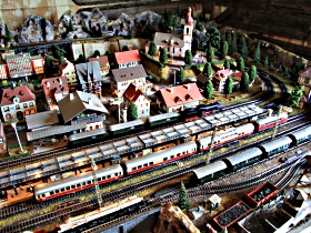 Tudor Court Model Village and German Model Train World - Accommodation Mermaid Beach