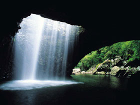 Natural Bridge Springbrook National Park - Accommodation Mermaid Beach