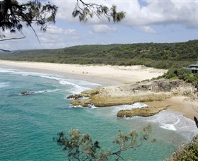Main Beach North Stradbroke Island - Accommodation Mermaid Beach