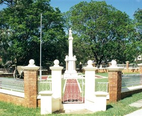 Boonah War Memorial and Memorial Park - Accommodation Mermaid Beach