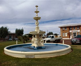 Cunnamulla War Memorial Fountain - Accommodation Mermaid Beach