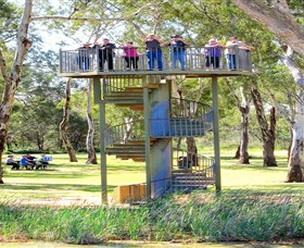 Darling and Murray River Junction and Viewing Tower - Accommodation Mermaid Beach