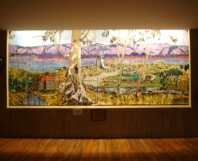 Adaminaby Memorial Hall Stage Curtain - Accommodation Mermaid Beach