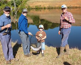 Natone Hills Fly Fishery - Accommodation Mermaid Beach