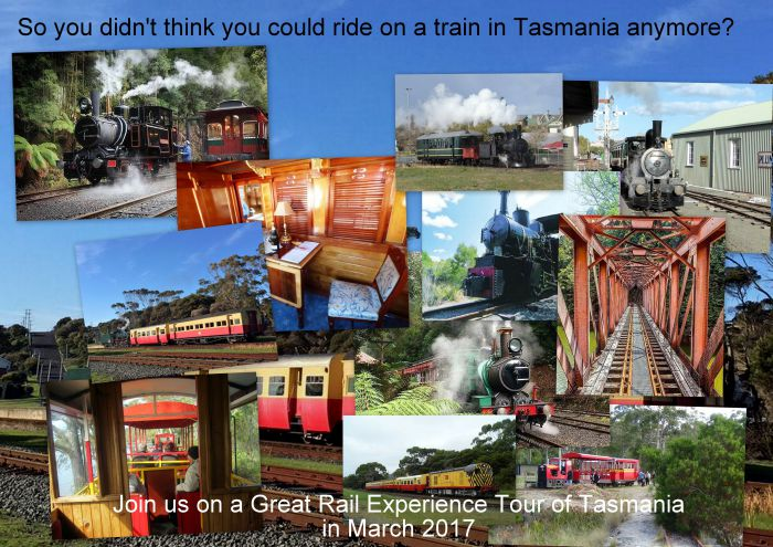 Great Rail Experiences  Tasmania Tour 2017 - Accommodation Mermaid Beach