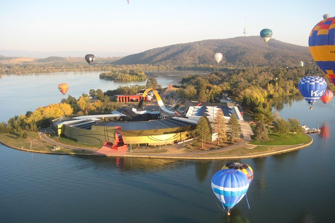 Canberra Hot Air Balloon Flight at Sunrise - Accommodation Mermaid Beach