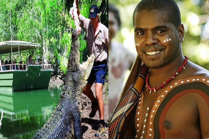 Hartley's Crocodile Adventures and Tjapukai Cultural Park Day Trip from Cairns - Accommodation Mermaid Beach