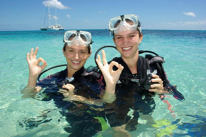 Ocean Spirit Michaelmas Cay Dive and Snorkel Cruise from Palm Cove - Accommodation Mermaid Beach