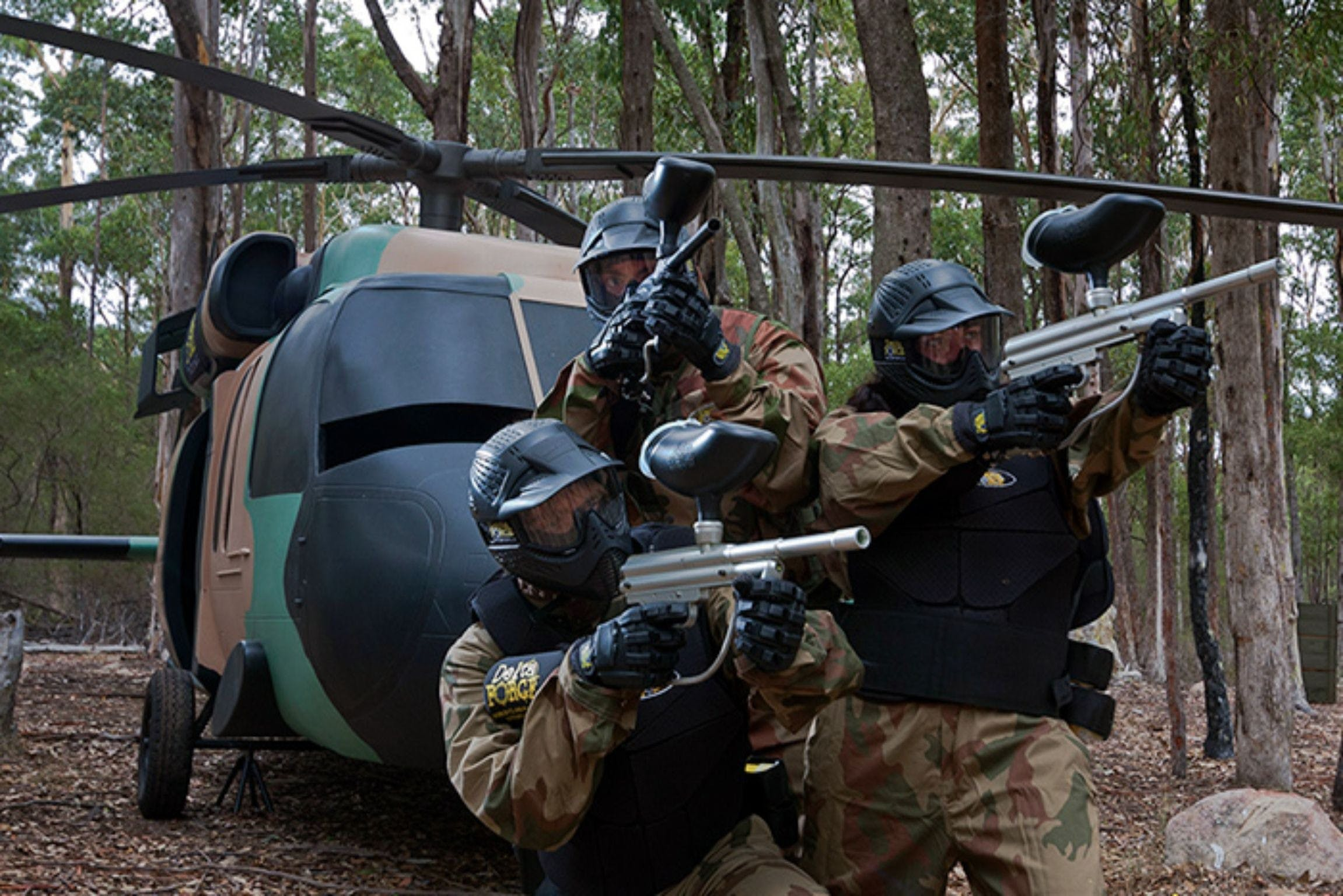 Delta Force Paintball Appin - Accommodation Mermaid Beach