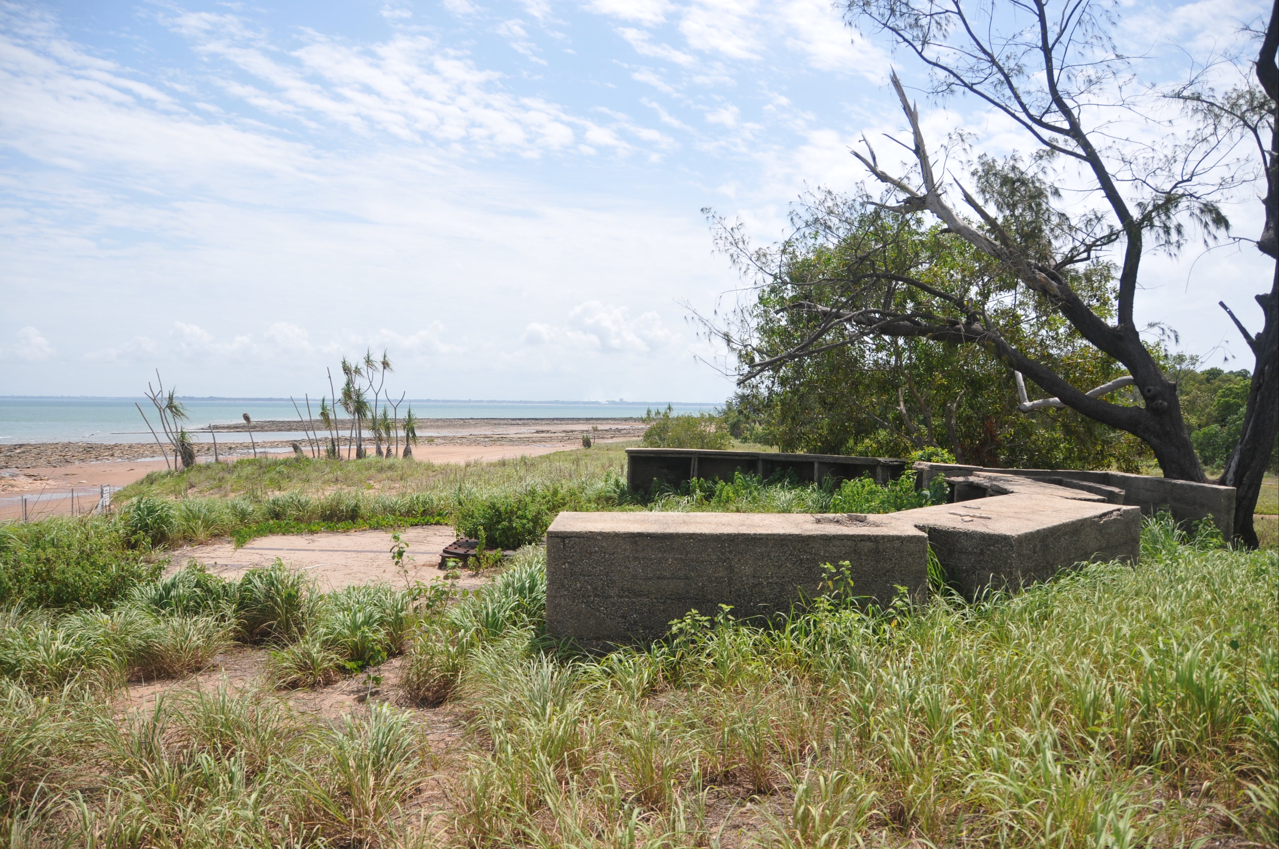 WWII Gun Emplacement Wagait Beach - Accommodation Mermaid Beach