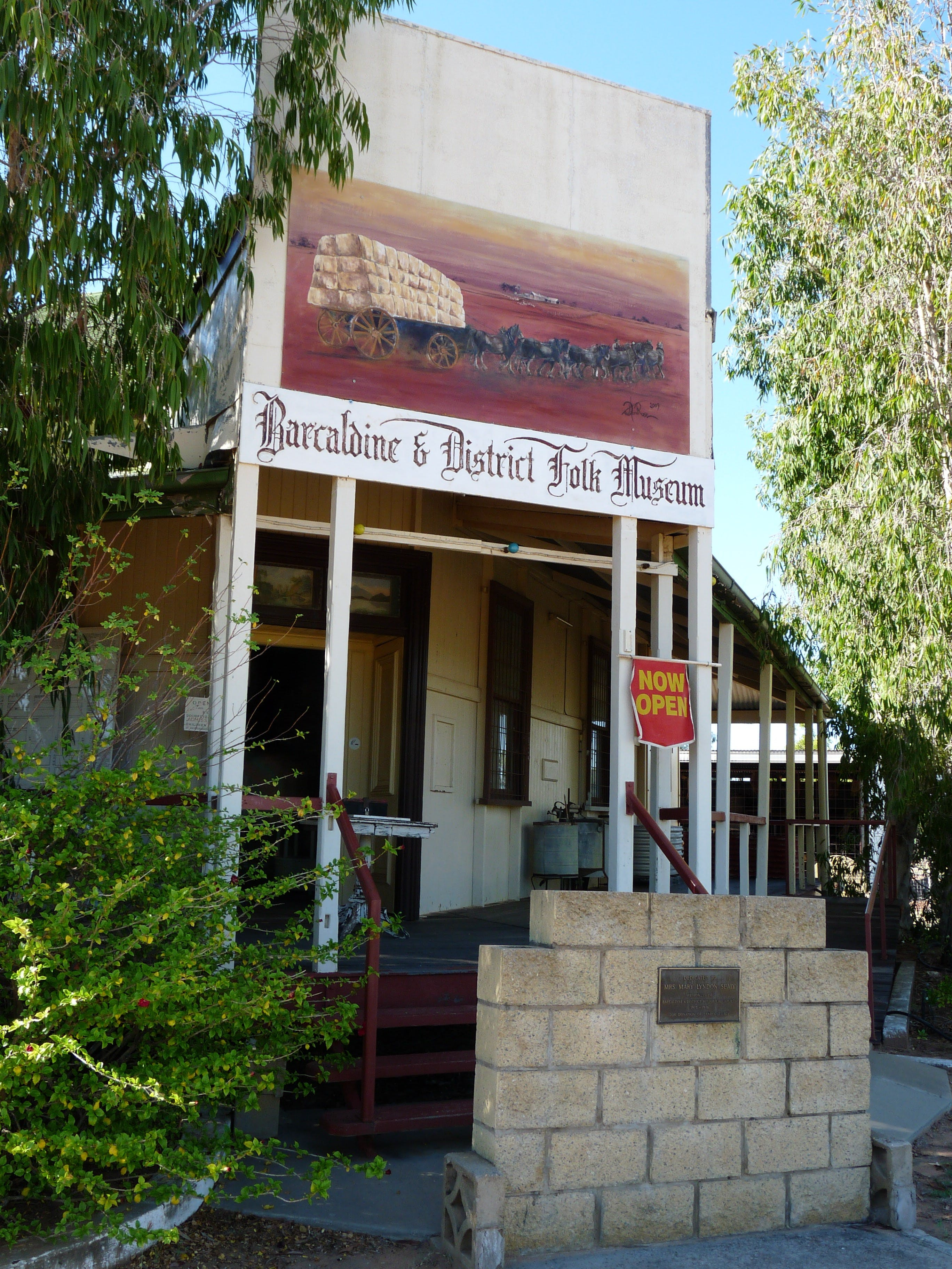 Barcaldine and District Historical Museum - Accommodation Mermaid Beach