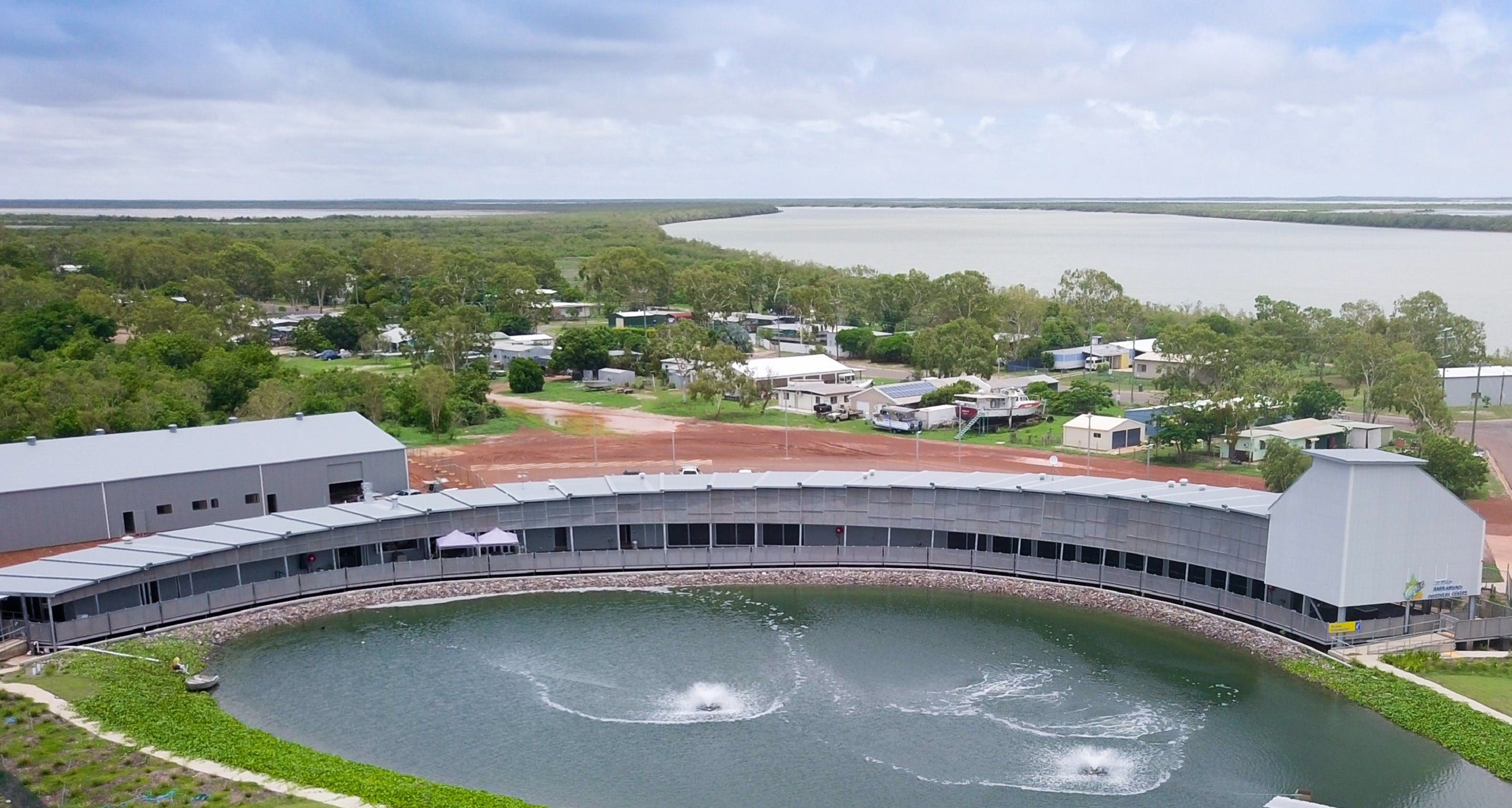 Les Wilson Barramundi Discovery Centre - Accommodation Mermaid Beach