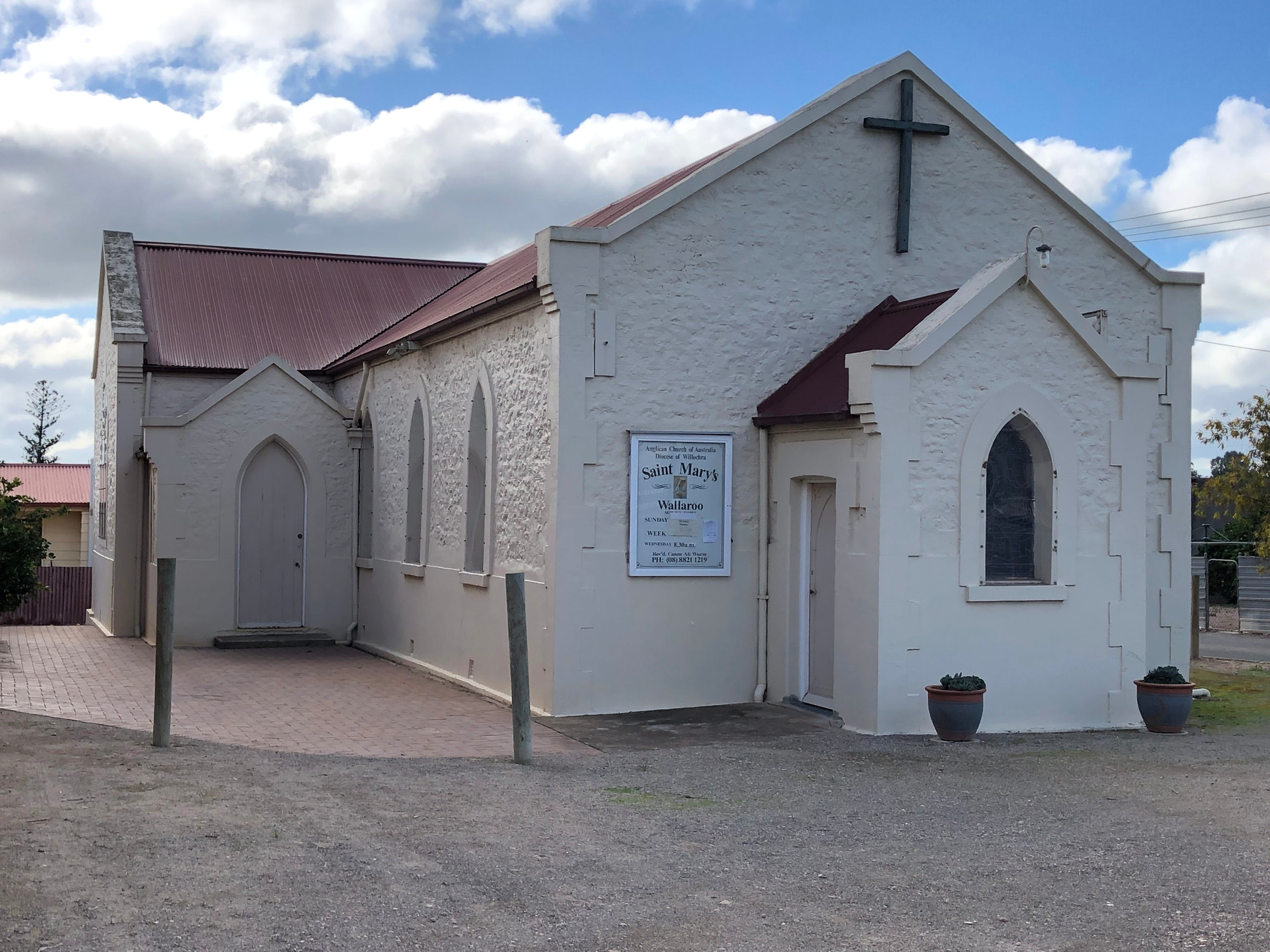 St Mary's Anglican Church Wallaroo - Accommodation Mermaid Beach