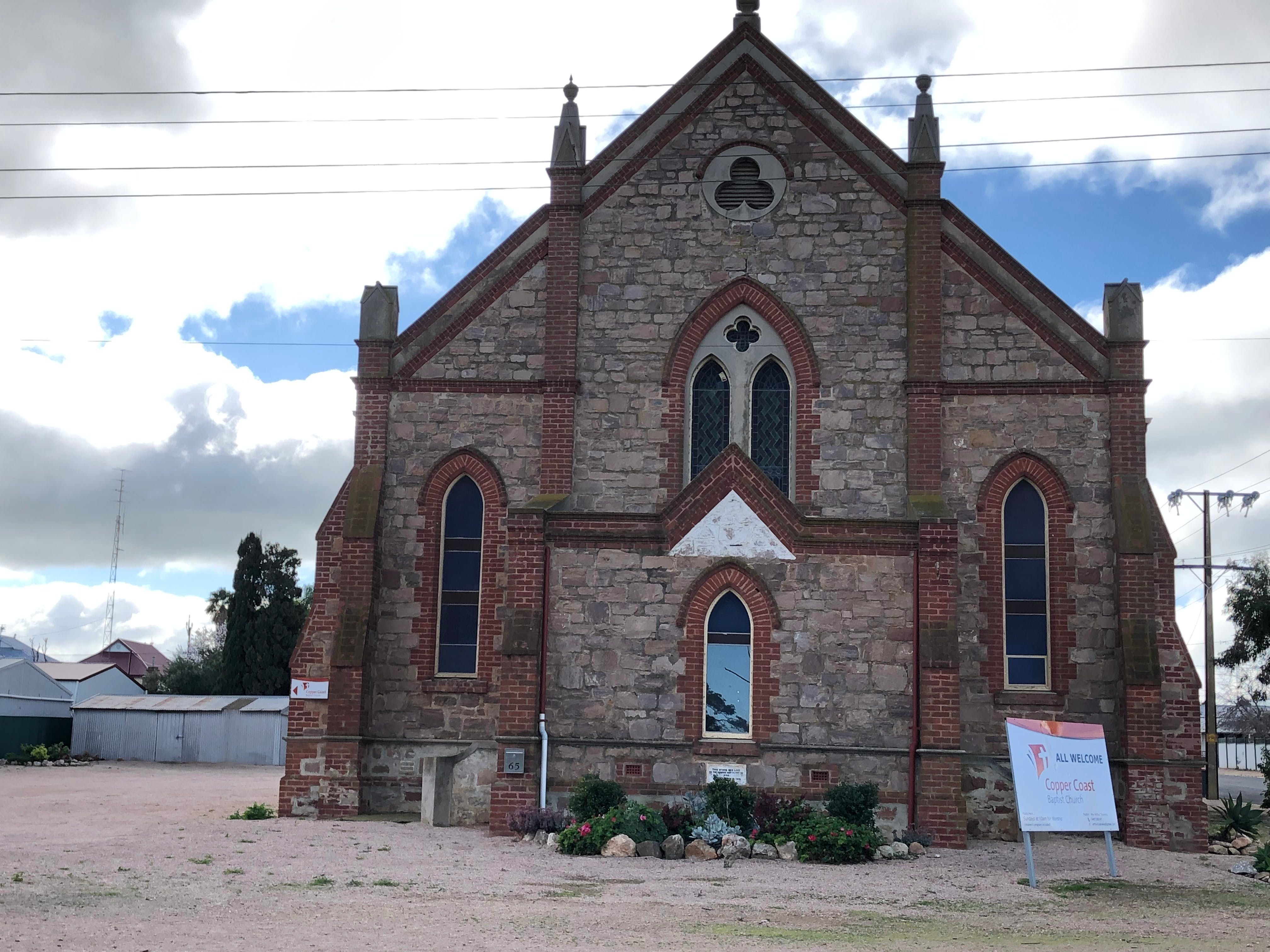 Copper Coast Baptist Church Wallaroo - Accommodation Mermaid Beach