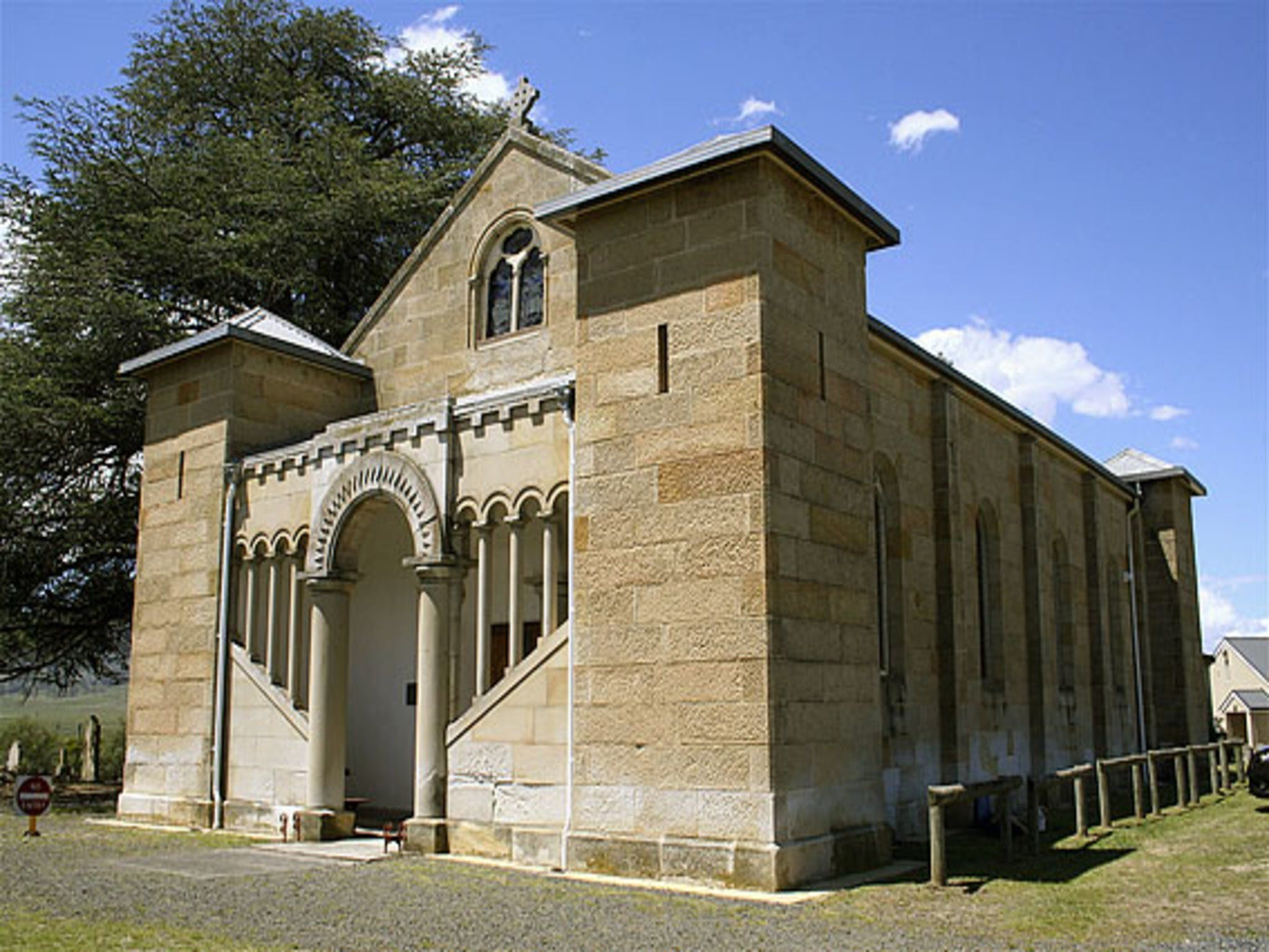 St Mark's Church Pontville - Accommodation Mermaid Beach