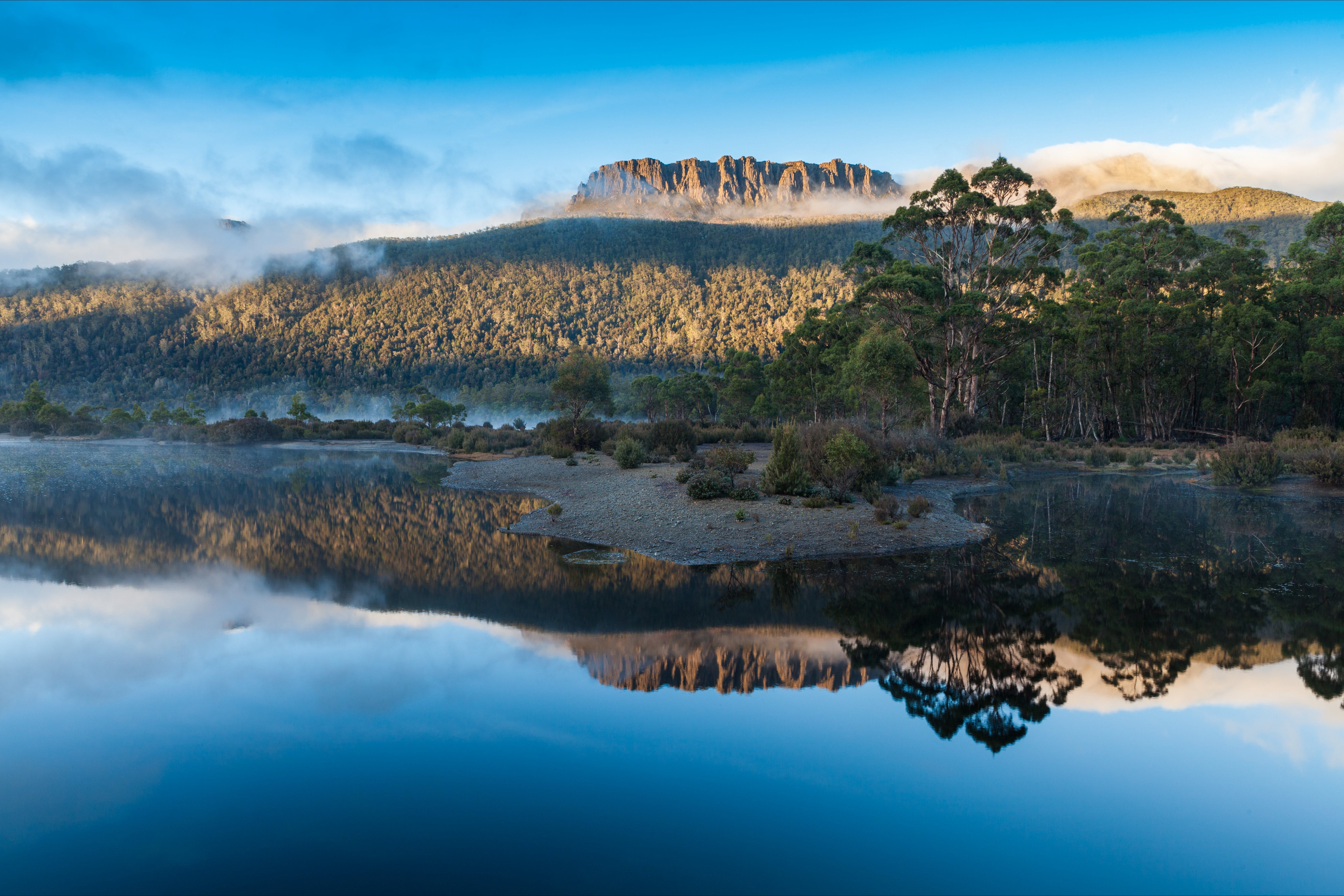 Lake St Clair Cradle Mountain  - Lake St Clair National Park - Accommodation Mermaid Beach