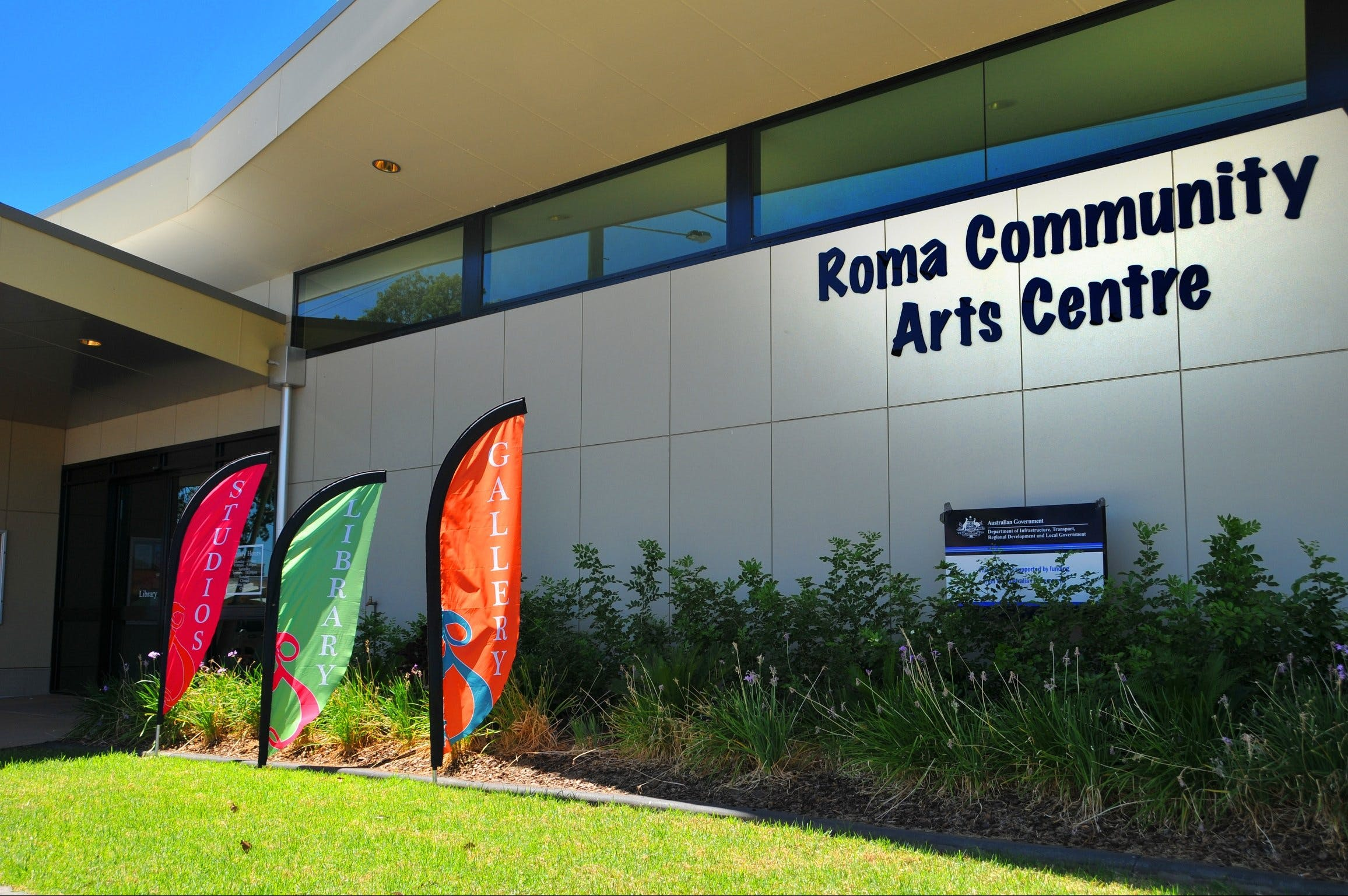 Roma on Bungil Art Gallery and the Walk of Art - Accommodation Mermaid Beach