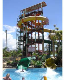 Ballina Olympic Pool and Waterslide - Accommodation Mermaid Beach