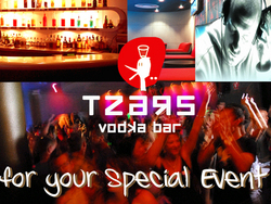 Tzars Vodka Bar