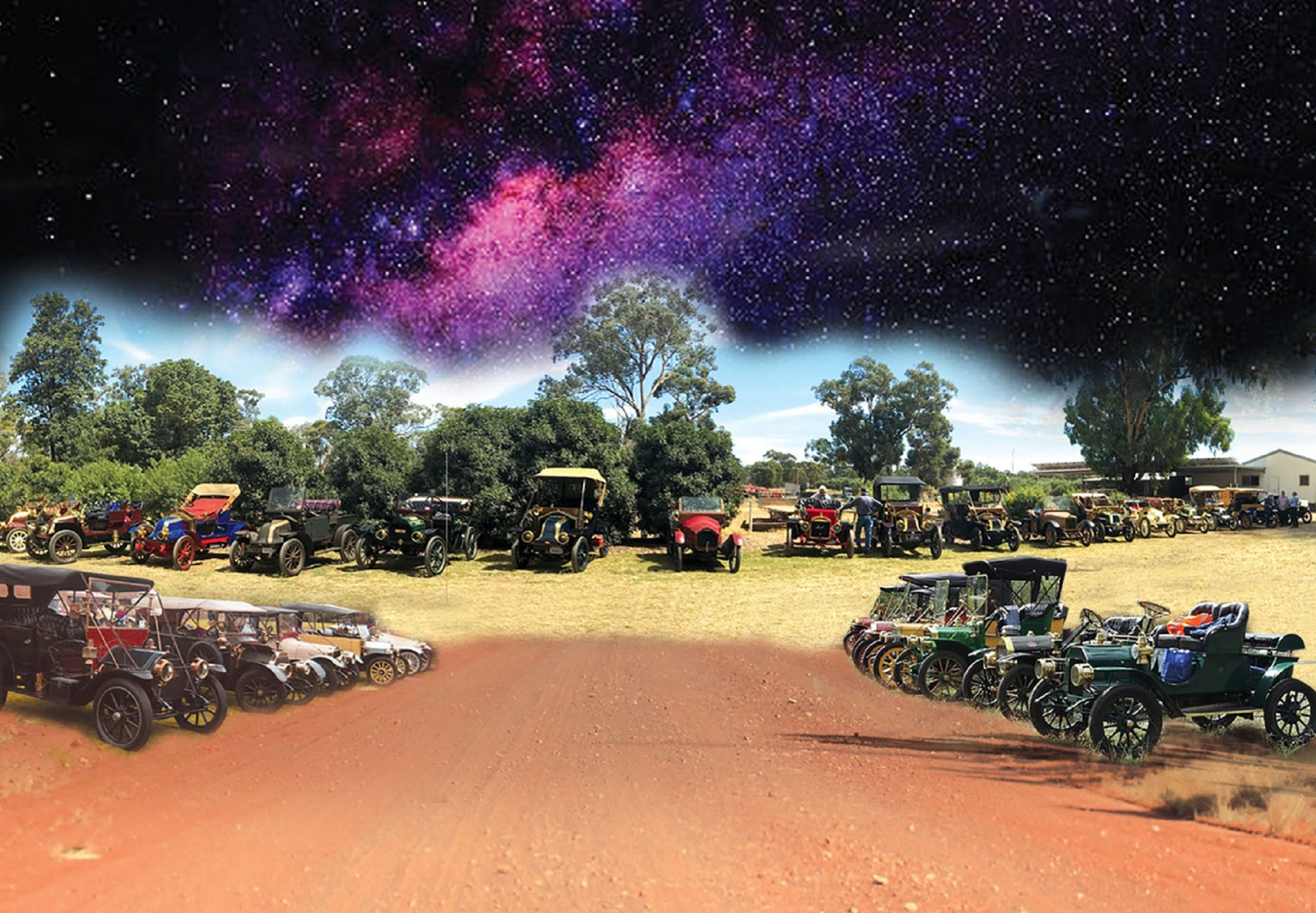 National Veteran 1 and 2 Cylinder Rally - Accommodation Mermaid Beach