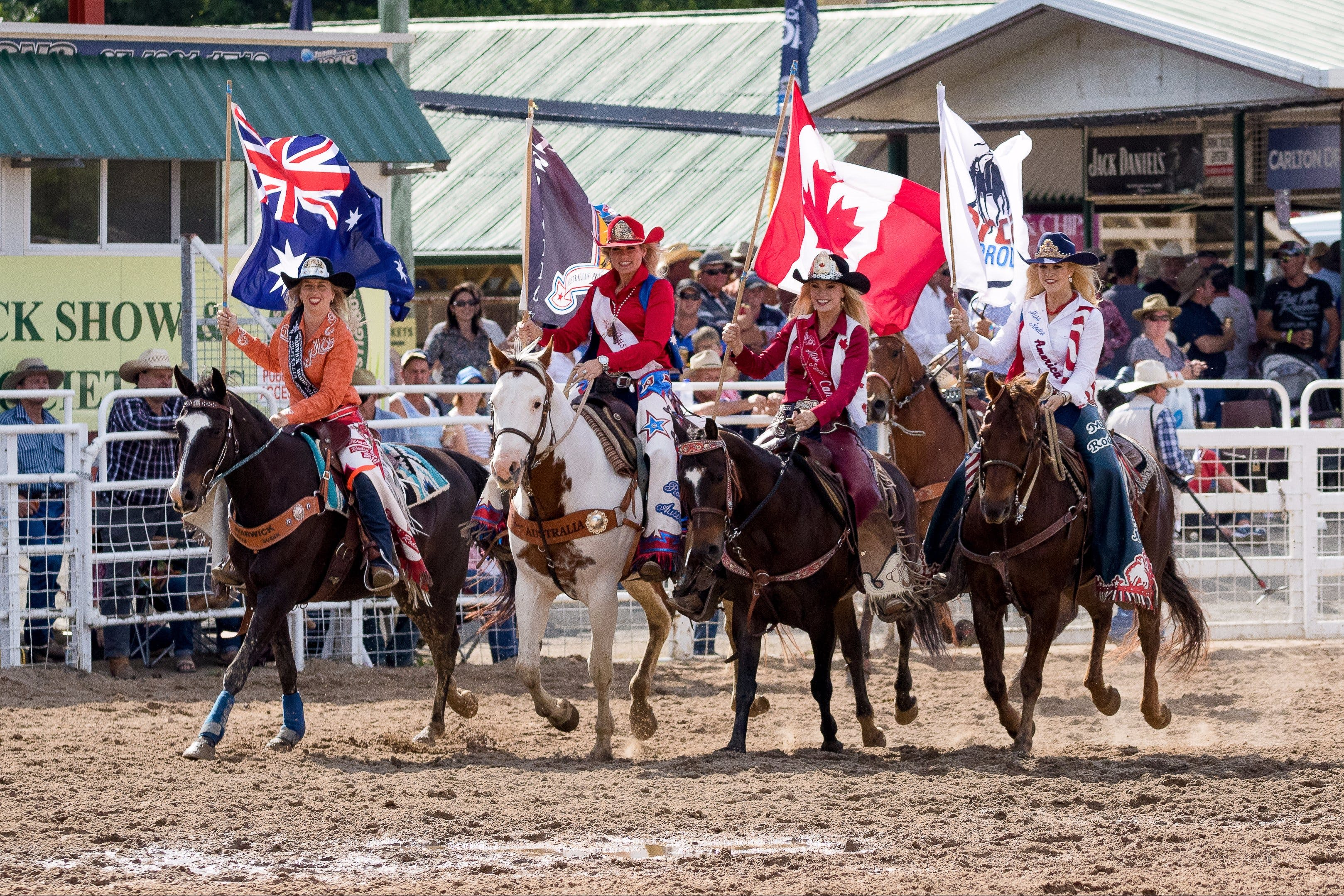 Warwick Rodeo National APRA National Finals and Warwick Gold Cup Campdraft - Accommodation Mermaid Beach