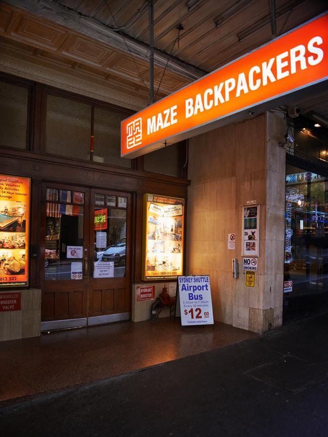 Maze Backpackers - Sydney - Accommodation Mermaid Beach